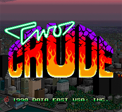 Two Crude - Arcade - Beat'n Up - 2 Jogadores - Data East 1990
